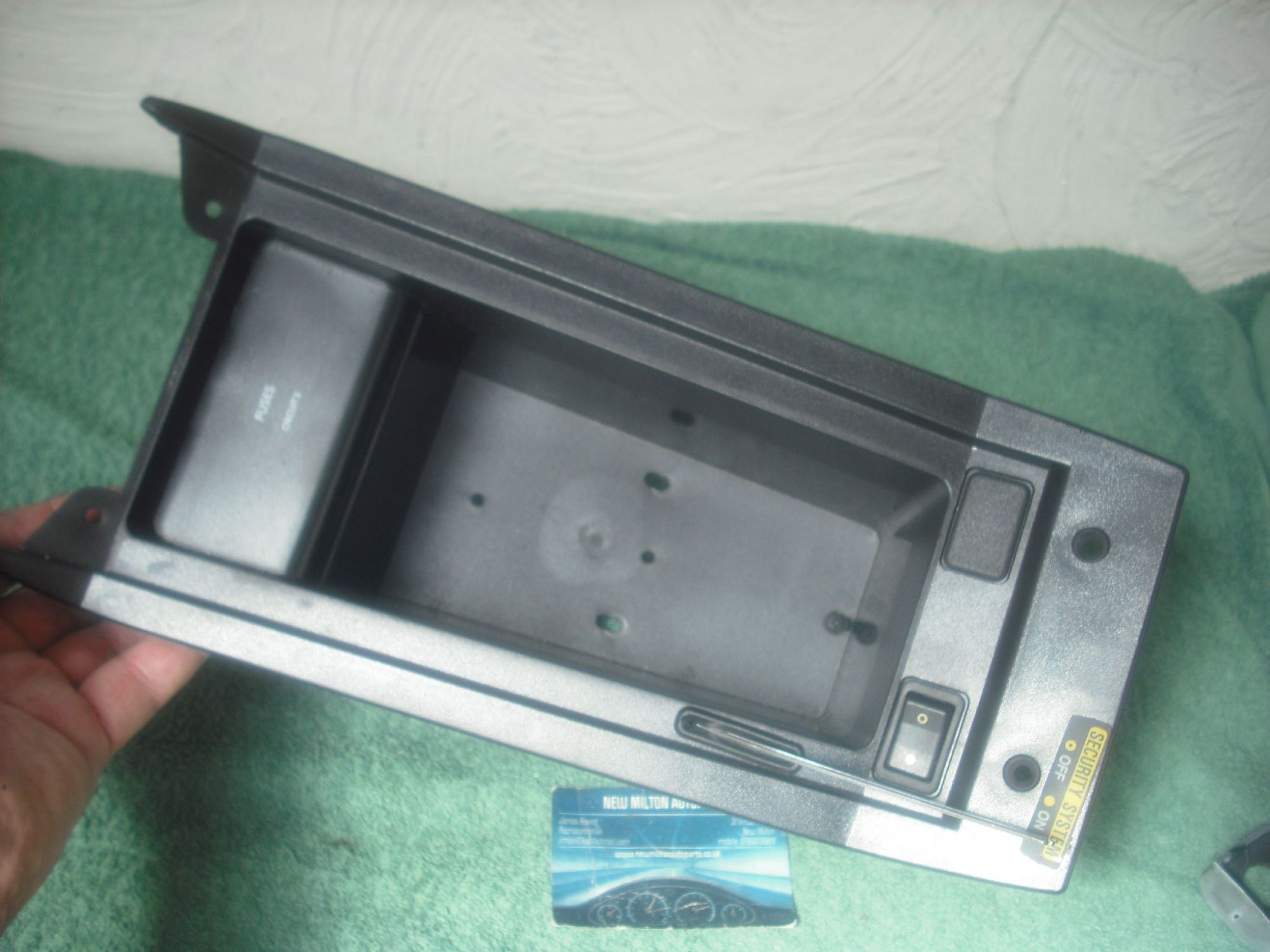 hight resolution of bec23859 d0675 a jaguar xj6 xj40 fuse box center console glove storage box shell